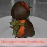 How to Make Chocolate Covered Strawberries - Very Simple Recipe
