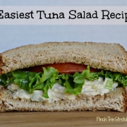 Easiest Tuna Salad Sandwich Recipe