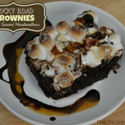 Rocky Road Brownies With Toasted Marshmallows