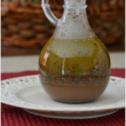 Homemade Greek Vinaigrette Dressing
