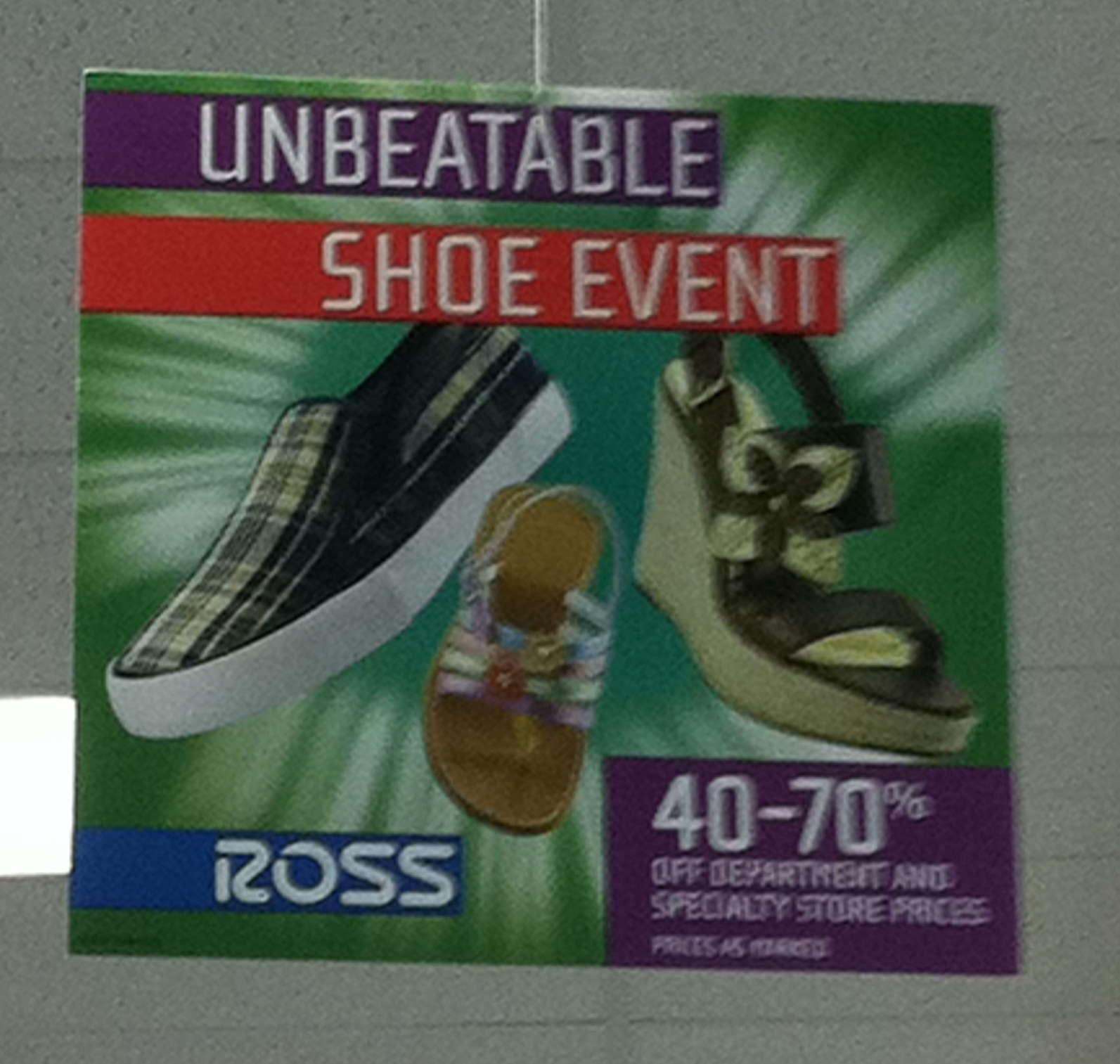 Step into Savings Enter to win a $25 Gift Card to Ross Dress for Less