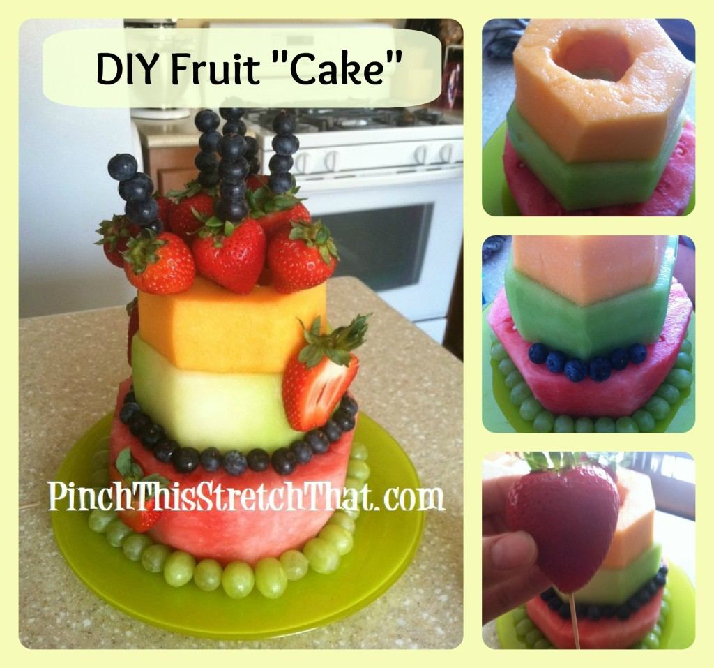"Healthier Cake - Birthday Fruit ""Cake"" - MomsLifeboat"