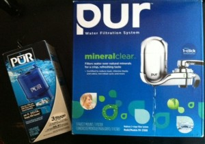 Pur Water Filtration System Giveaway