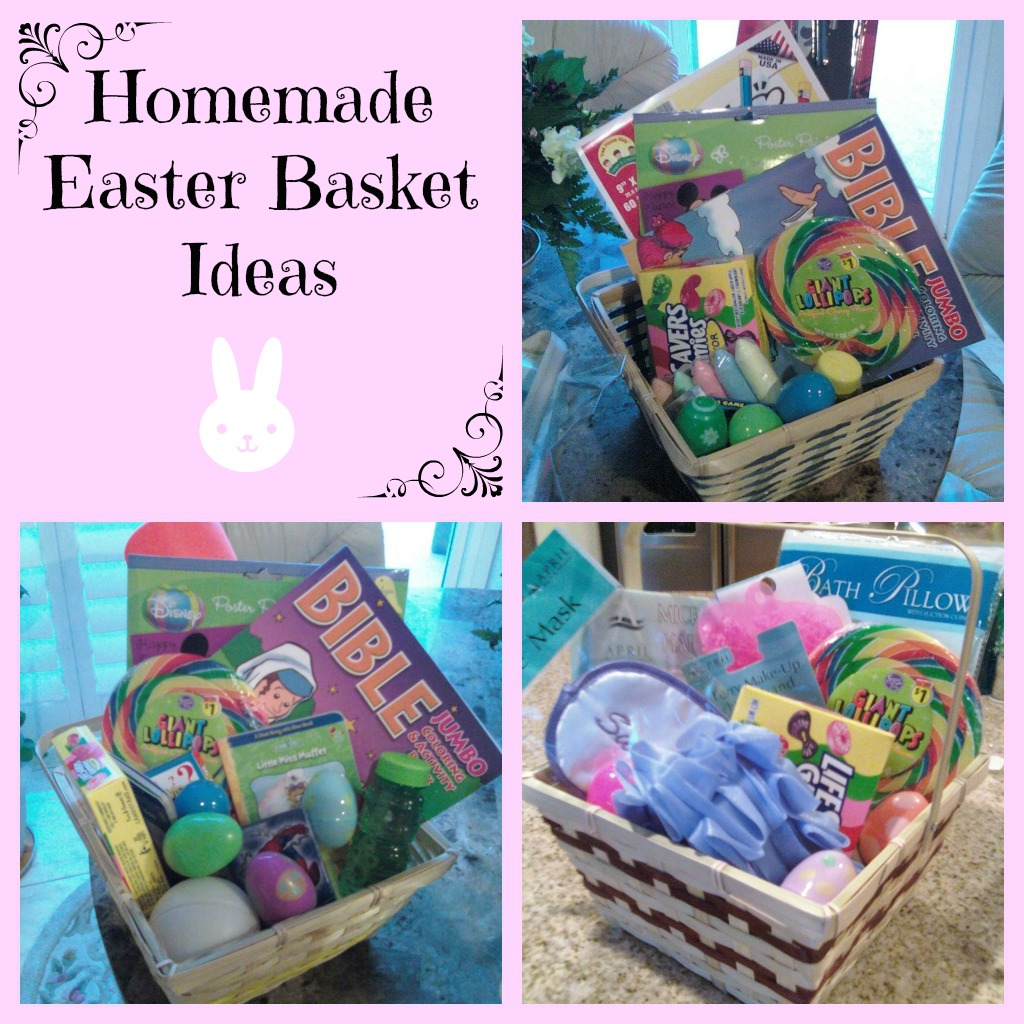Homemade Easter Basket Ideas Toddlers to Teens