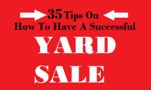 How to Have a Successful Yard Sale, @gina_horne