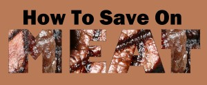 How to save on meat