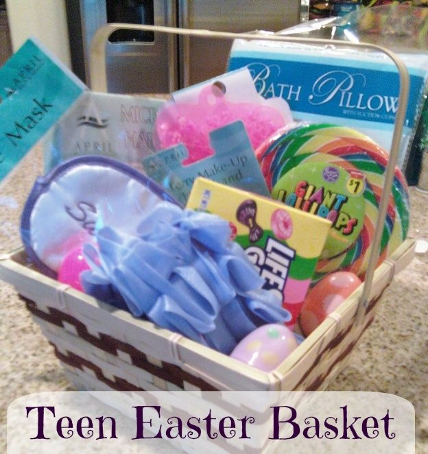 Homemade Easter Basket Ideas Teen Girl from Momslifeboat.Com @ginahorne #Easter