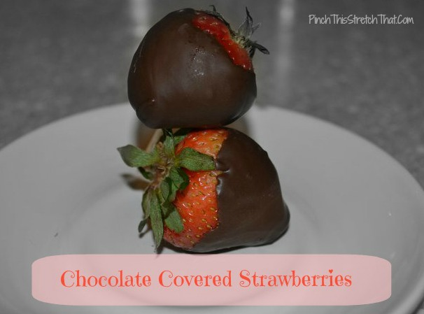 How To Make Chocolate Covered Strawberries With Almond Bark