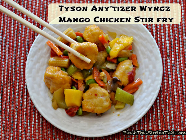 Stir Fry Mango Chicken