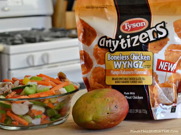 Stir Fry Mango Habanero Wyngz