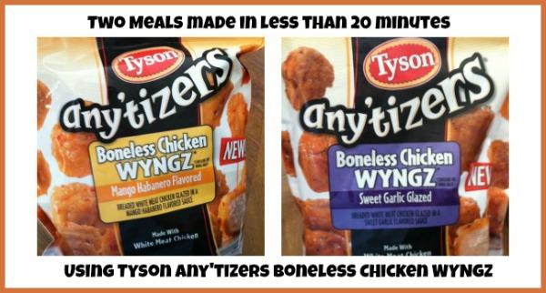 Tyson Any'tizer Wyngz