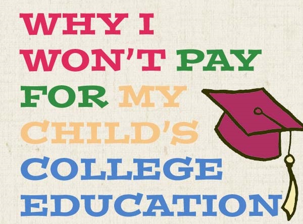 paying for college, college education