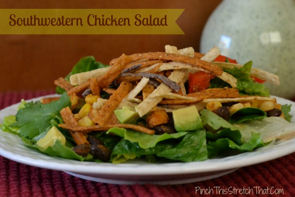 Southwestern Chicken Salad is an easy family fare when the ...