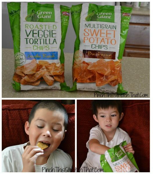 Green Giant Veggie Snack Chips