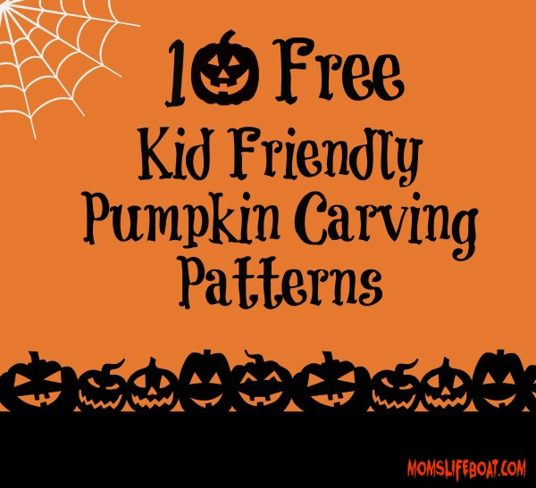 10 free kid friendly pumpkin carving patterns