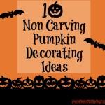 Non Carving Pumpkin Decorating Ideas