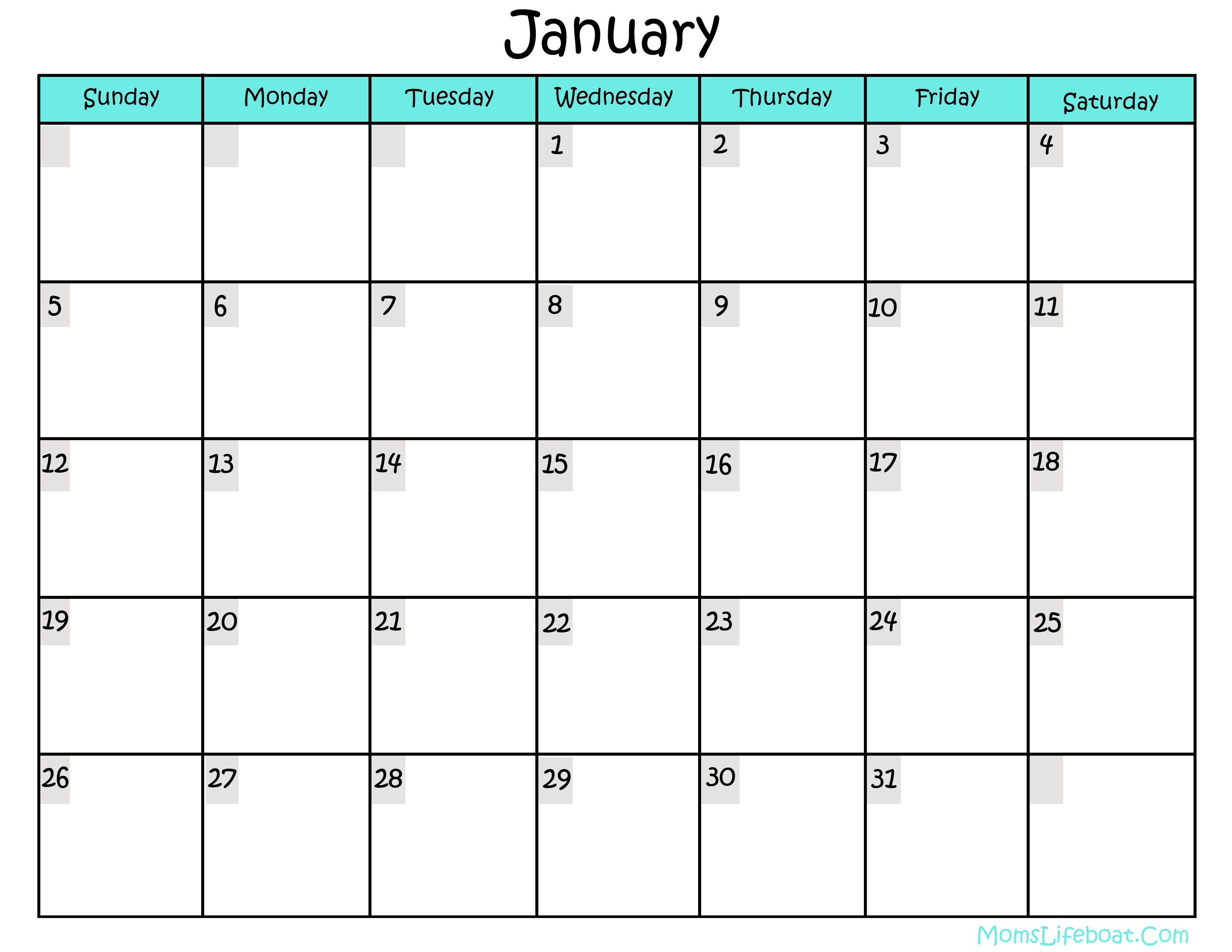 Pics Photos - Free Printable Calendars