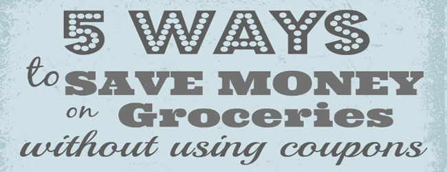 Save on Groceries with coupons