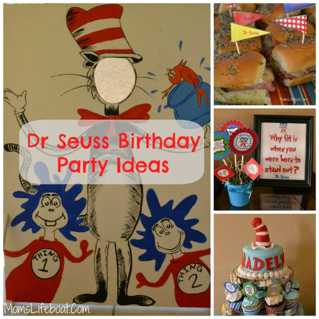 Dr Seuss Birthday Party Ideas Decorations And Games
