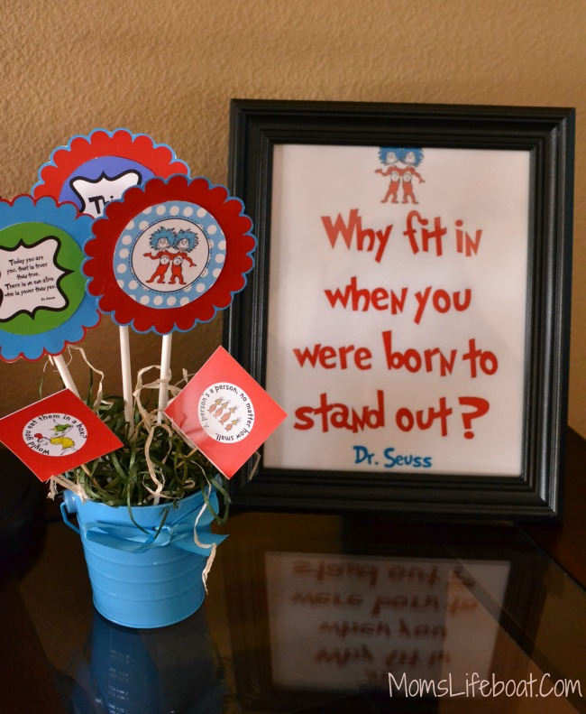 Dr Seuss Birthday Party Ideas - Decorations 1