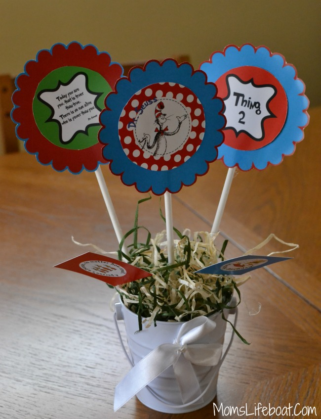 Dr Seuss Birthday Party Ideas -Decorations 5