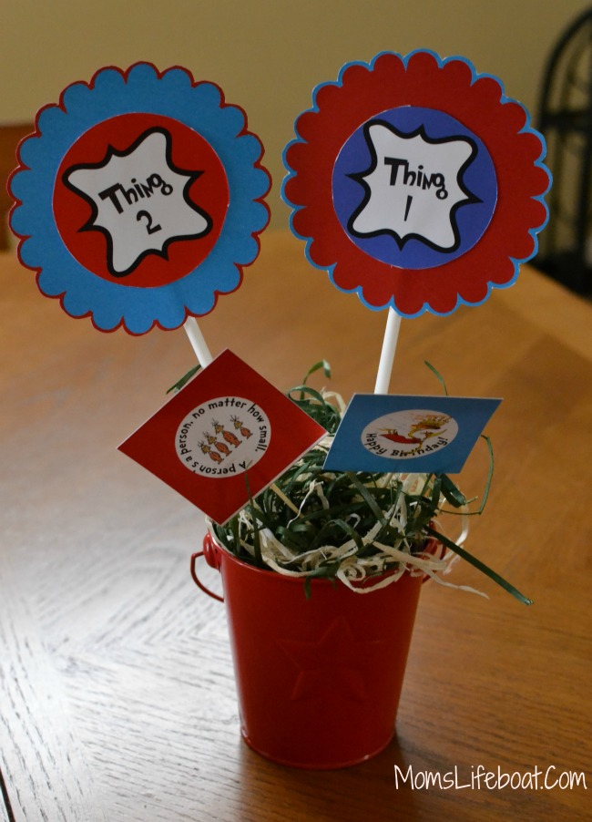 Dr Seuss Birthday Party Ideas -Decorations 6