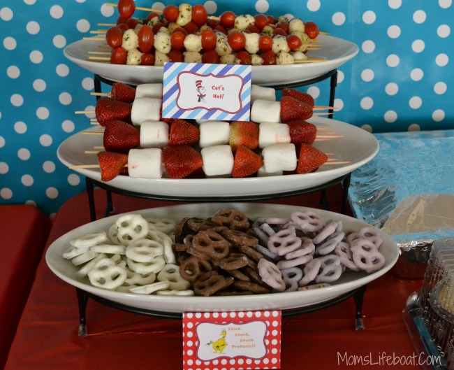 Dr Seuss Birthday Party Ideas - Food 1
