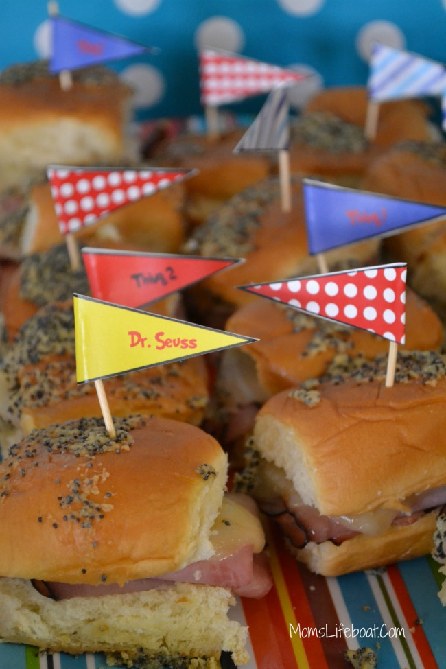 Dr Seuss Birthday Party Ideas - Food 14
