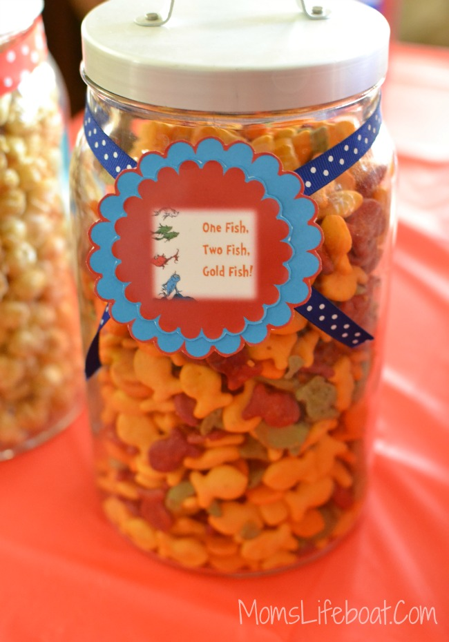 Dr Seuss Birthday Party Ideas - Food 6
