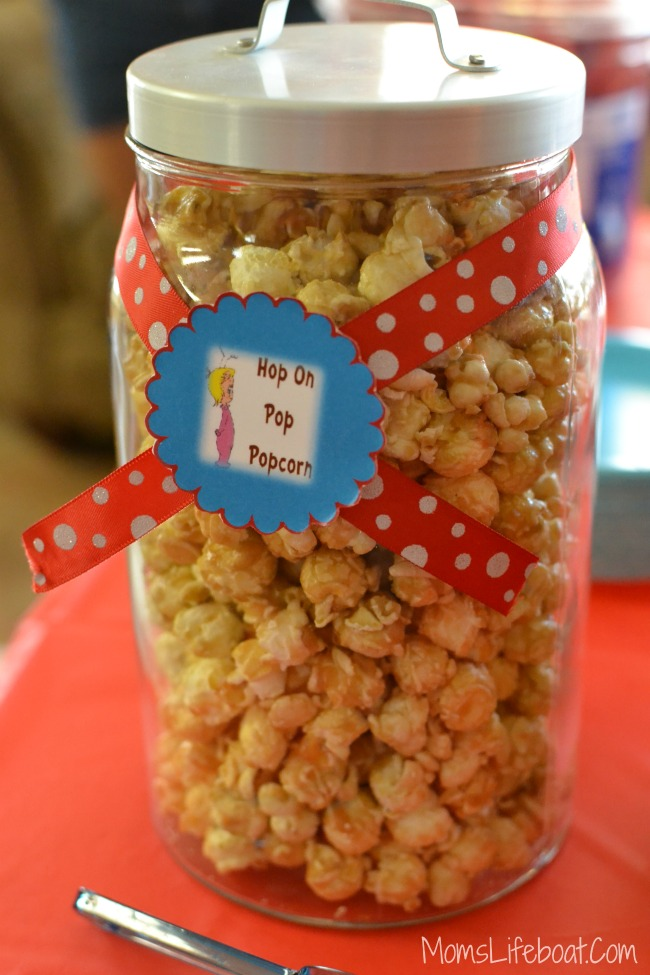 Dr Seuss Birthday Party Ideas - Food 7