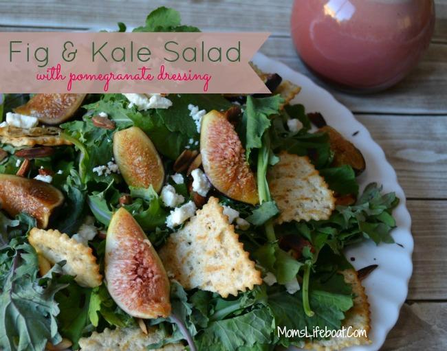 Fig Kale Salad