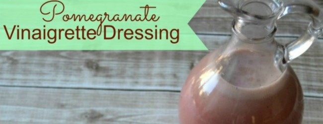 Pomegranate Vinaigrette Dressing feature