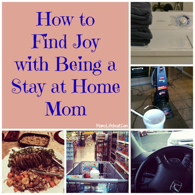 How to Find Joy Being a Stay at Home Mom