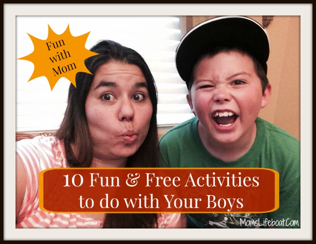 Mother and Son Activity Ideas