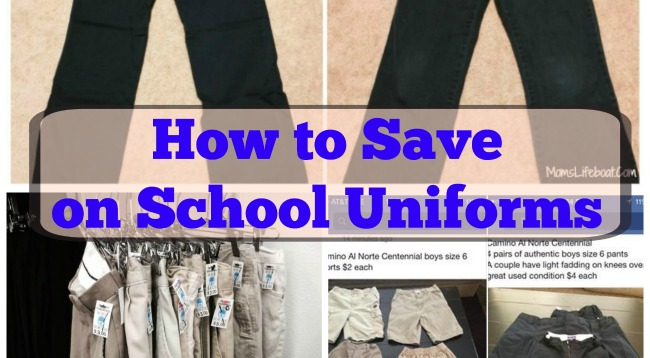 How to Save on School Uniforms