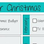 Christmas Planner Printable