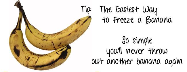 banana freezer