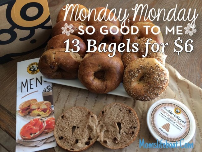 Einstein Bagels $6 Mondays