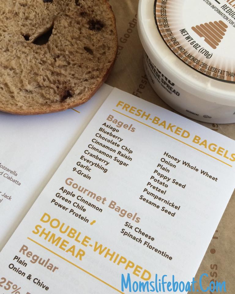 Einstein Bagels $6 Mondays (13 Bagels) + $50 Gift Card Giveaway