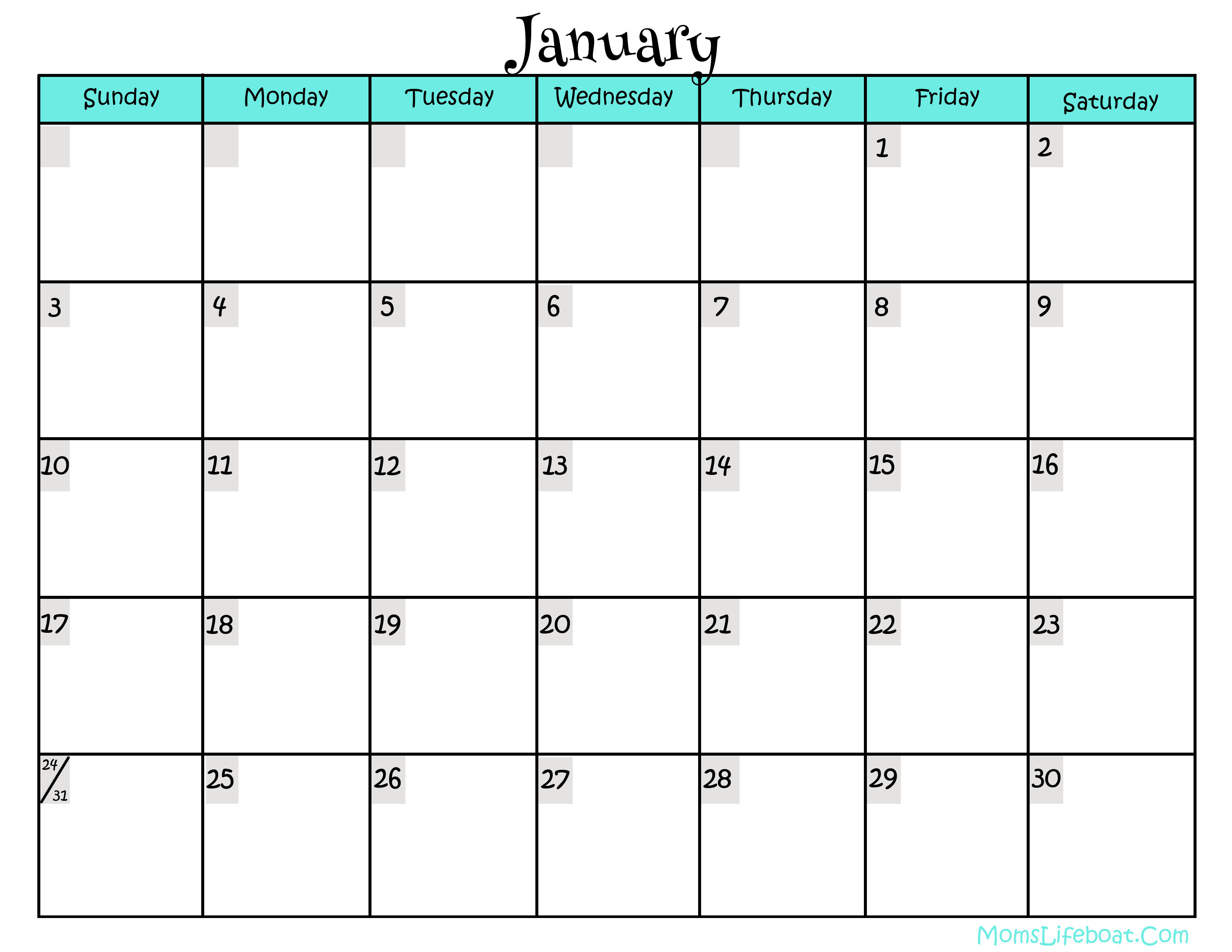 image about Printable Calendars Free referred to as 2016 Calendar - Totally free Printable