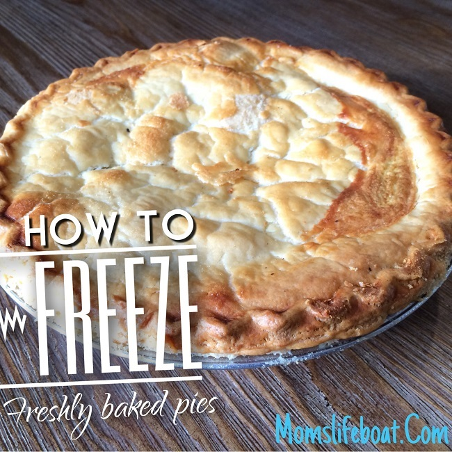 How To Freeze Pies