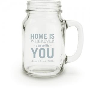 customized mason jars