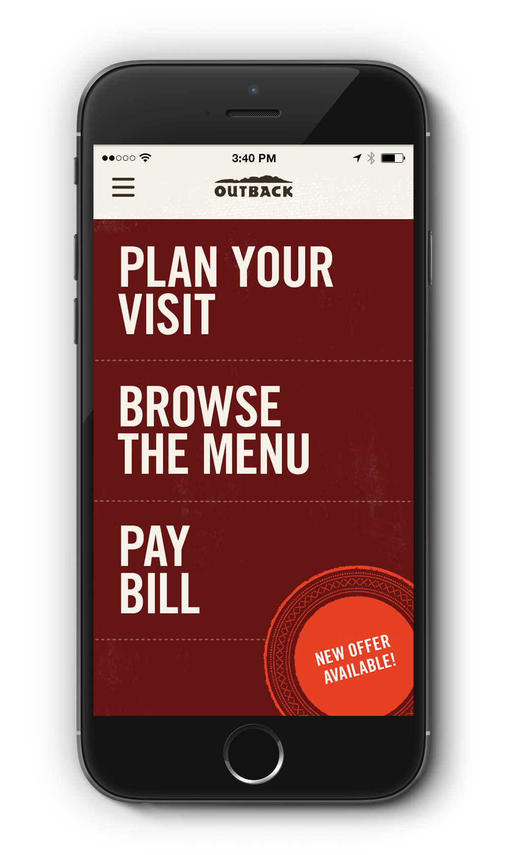 Save plan and pay with outback 39 s mobile app - Home design app used on love it or list it ...