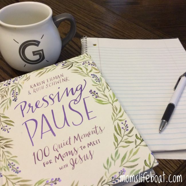 pressing pause quiet time for moms