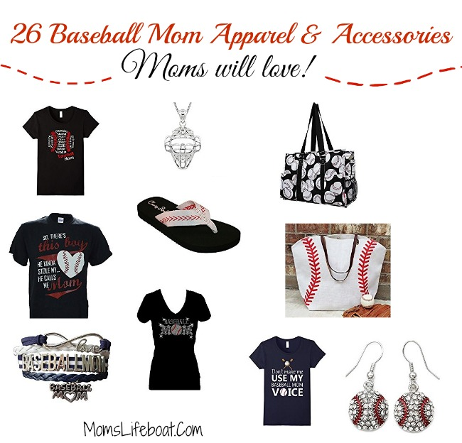baseball mom, baseball mom apparel, baseball mom accessories, jewerly