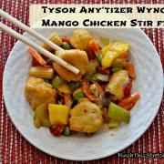 Stir Fry it Up with Tyson Any'tizer Wyngz
