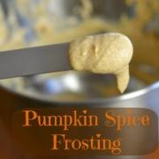 Pumpkin Spice Frosting