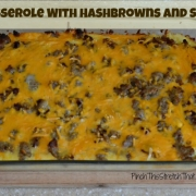 Egg Casserole with Hashbrowns and Sausage