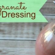 Pomegranate Vinaigrette Dressing