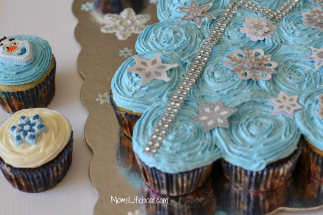 frozen cupcake cake diy